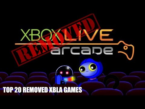 Top 20 Xbox 360 Live Arcade games removed from the Xbox Marketplace