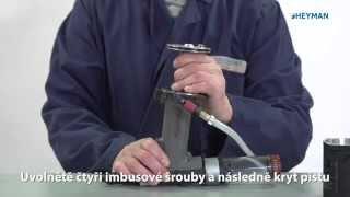 Odvzdušnění hydraulického systému