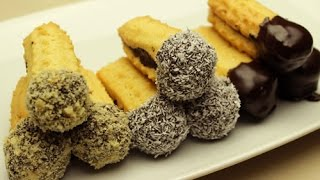 Chocolate Hazelnut Dipped Sandwich Cookies Recipe