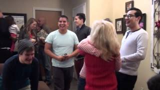Best Christmas Surprise: The Tenorios come home for Christmas to surprise family!