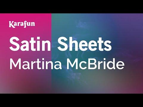Karaoke Satin Sheets - Martina McBride *