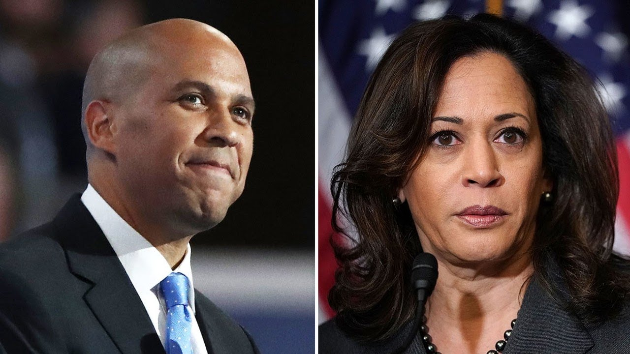 KAMALA HARRIS AND CORY BOOKER STOP PANDERING TO BLACK PEOPLE