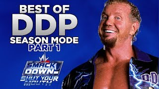 nL Highlights - Best of DDP SEASON MODE [Part 1] (WWE Smackdown: Shut Your Mouth)