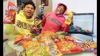 TRYING MEXICAN CHIPS ft FUNNYMIKE!