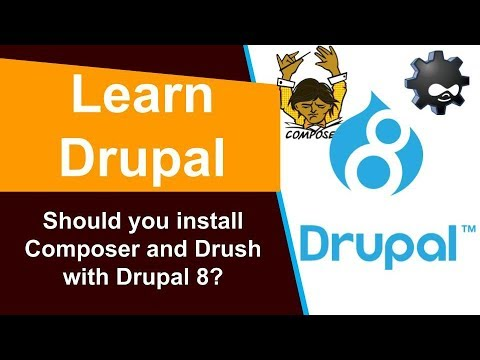 Should you install Composer and Drush with Drupal 8? thumbnail