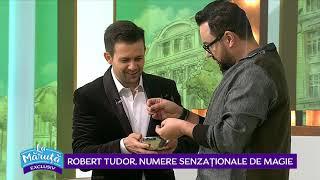Robert Tudor, un nou numar senzational de magie