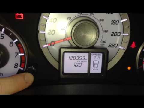 14 Honda Pilot Oil Life Reset >> 2013 Honda Pilot Oil Life Reset Youtube