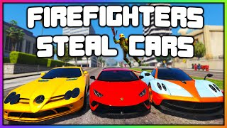 GTA 5 Roleplay - ROBBING DEALERSHIPS AS FAKE FIREMEN | RedlineRP