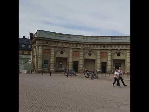 Stockholm Sweden Royal Palace in Gamla Stan