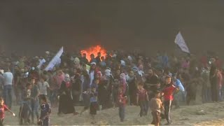 Enfrentamientos mortales en la Franja de Gaza