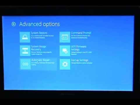 How To Boot From CD Or USB With A Windows 8 Computer