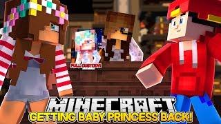 Minecraft Adventure - GETTING BABY PRINCESS BACK!!