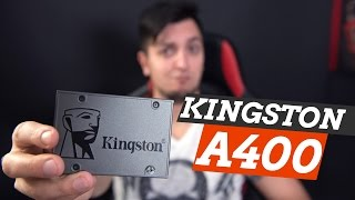 KINGSTON A400: ДАЕШЬ ДЕШЕВЫЕ SSD!