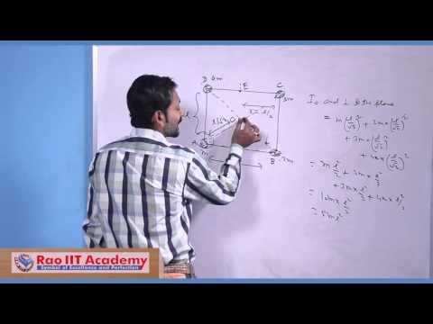 Moment of Inertia Part 1 - IIT JEE Main and Advanced Physics Video Lecture [RAO IIT ACADEMY]