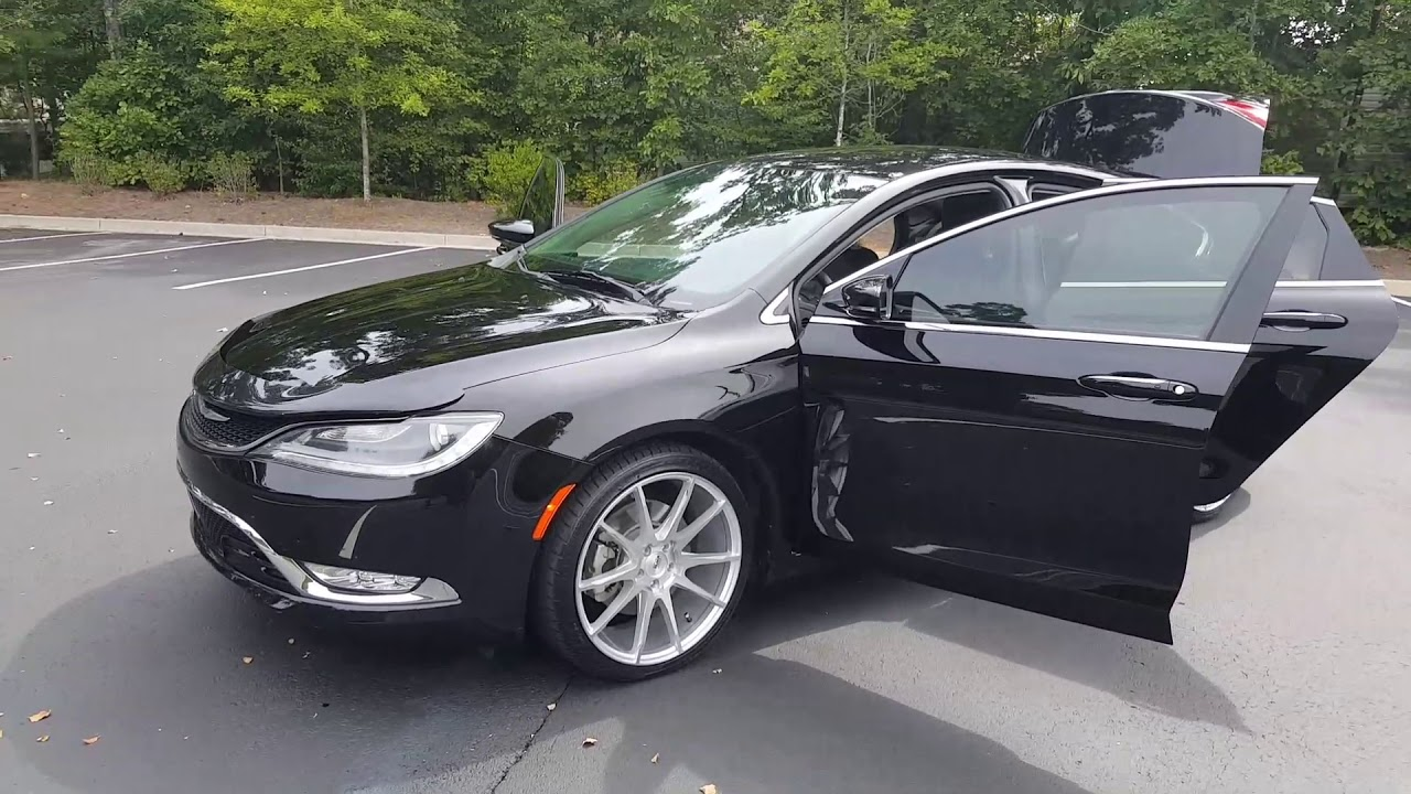 2015 Chrysler 200c W 20inch Rims And Custom Interior Youtube