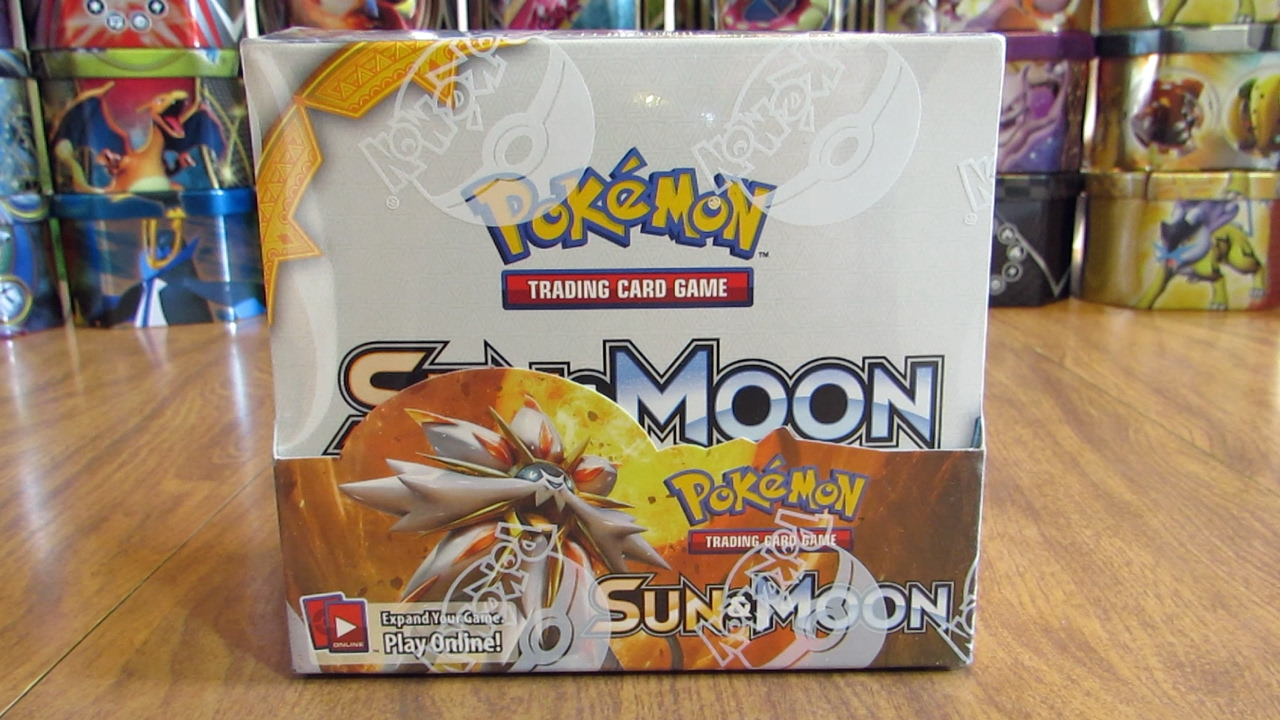 Pokemon TCG Sun & Moon Booster Box Opening Pt. 1 - YouTube