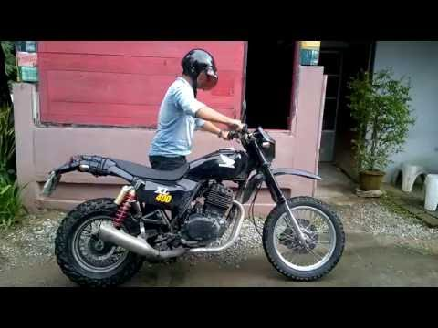 honda xl400 clic - YouTube