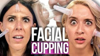 Attempting FACIAL CUPPING?! (Beauty Break)