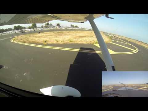 FL96 C182T Landing Practice