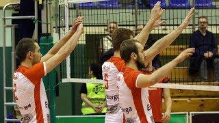 Energa Net Ostrołęka - AZS UWM Olsztyn (piłka meczowa)