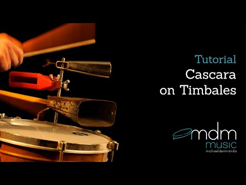 cascara on timbales.mov