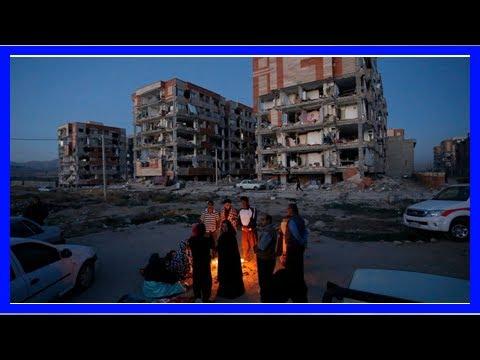 Iran-iraq earthquake kills more than 450
