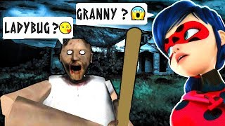 LADYBUG Ladybug vs HOW MANY HOW MANY GRANNY HORROR GAME ! ROBLOX MULTiPLAYER  ENGLISH SiMULATOR  2018