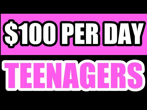 5 Ways On How To Make $100 Per Day As A Teenager 2020 thumbnail
