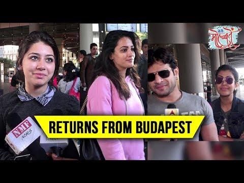 Karan Patel, Anita Hassanandani, Aditi Bhatia Return From BUDAPEST | Yeh Hai Mohabbatein