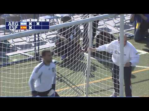 Argentina 2-1 España (Penales). Semifinal Mundial de Fútbol para Ciegos