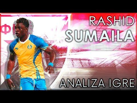 Rashid Sumaila - Analiza igre | FK Crvena zvezda