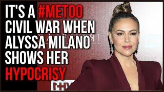 MeToo Movement EXPOSED As A Political Sham, Rose McGowan SHREDS Alyssa Milano Over Hypocrisy