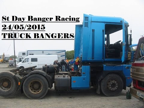 St Day Truck Banger Racing 24/05/2015