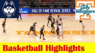UConn vs Tennessee Women Basketball Game Highlights 1 21 2021
