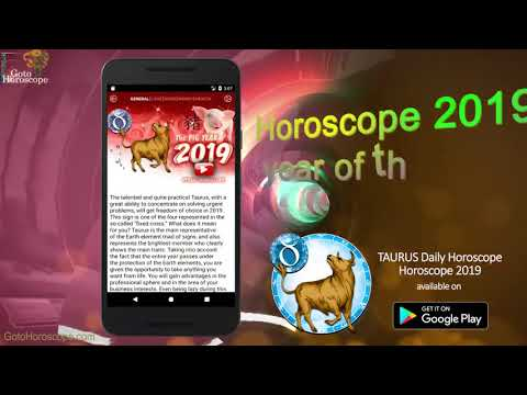 "Taurus Horoscope - Taurus Daily Horoscope 2019 – ""Google"
