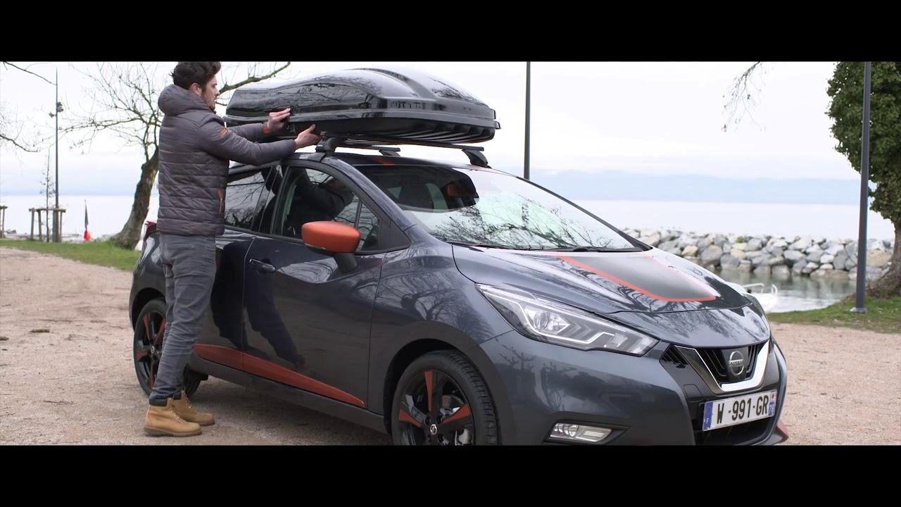 nissan tutorial roof racks