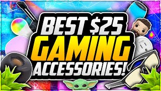 Top 10 BEST Gaming Setup Accessories UNDER $25! 🎮 Best BUDGET Gaming Equipment For YOUTUBERS! [2020]