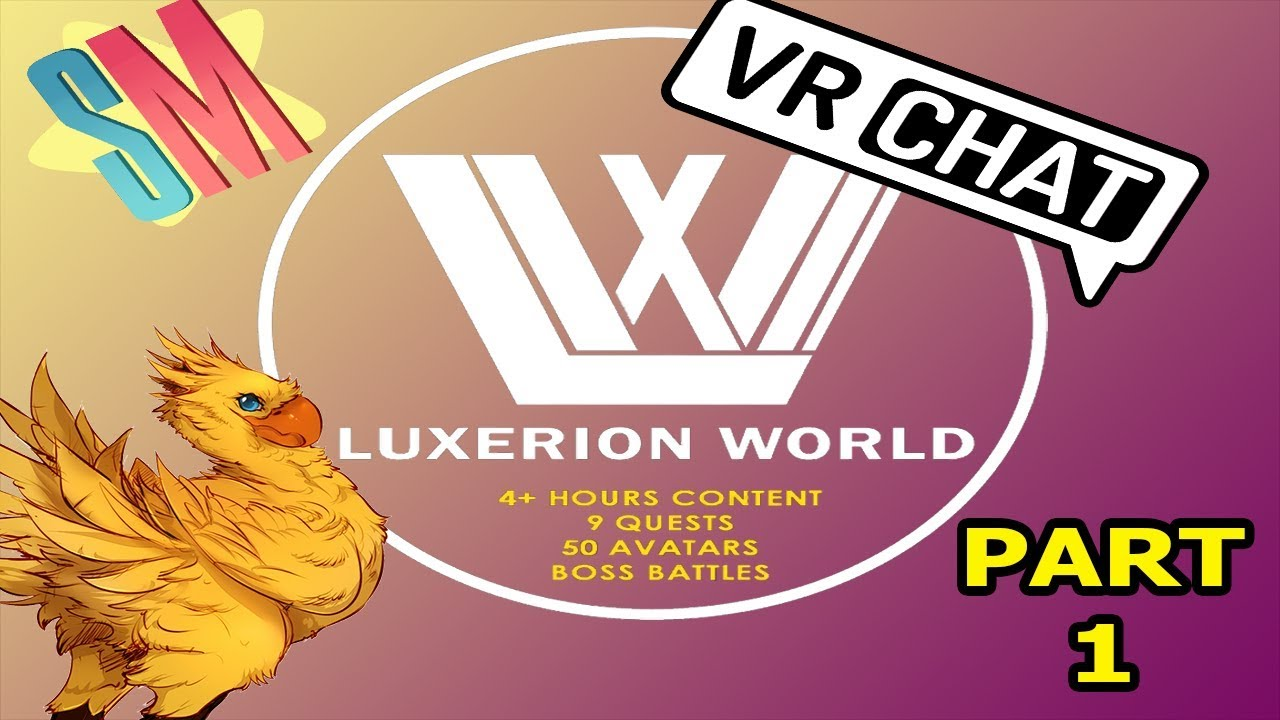 VRChat: Luxerion World -- New Beginnings - YouTube