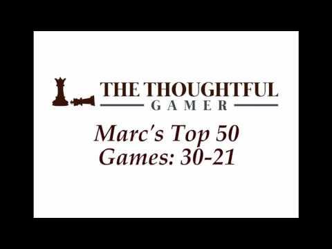 Marc's Top 50 Games: 30-21