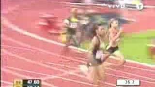 400m femenino Estokolmo 2007
