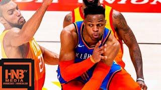 Oklahoma City Thunder vs Utah Jazz Full Game Highlights | March 11, 2018-19 NBA Season