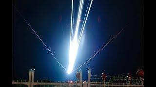 高知龍馬空港、夜の着陸シーンとテナーサックスの曲をコラボしました。...