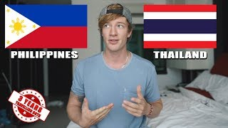 Philippines vs. Thailand || Which is THE BEST for Travel? (No bullshit guide)