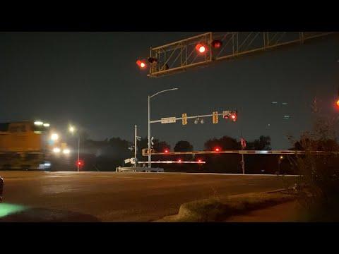 Mixed BNSF Freight through Oklahoma City