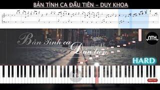 Hướng Dẫn - Bản Tình Ca Đầu Tiên - Duy Khoa - Piano Tutorial