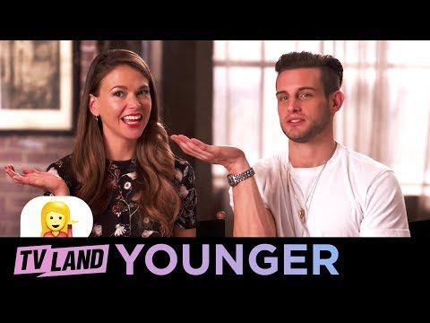 Younger: Know Your Emoji  Flat Hand