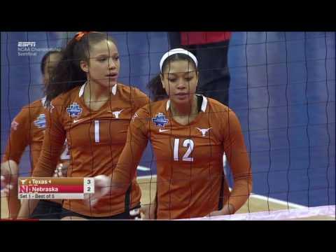 Texas v Nebraska, 12/15/2016, NCAA Women's Volleyball Semifinal Match