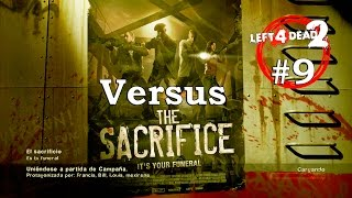 Left 4 Dead 2 XBOX 360 - En Directo #LIVE CONSEJOS GUIA Dead Center The Sacrifice Versus 9