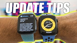 WatchOS 7 FIRST thing to Do and Know! - Apple Watch series 3-5