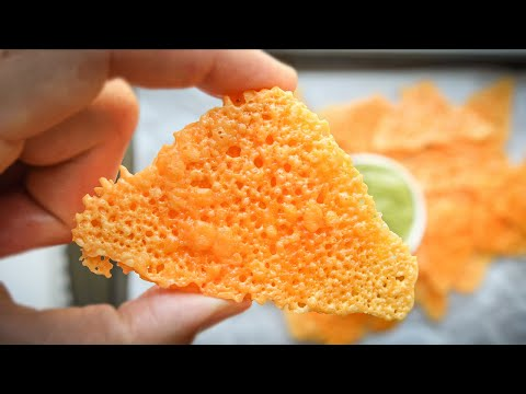 0 CARB Keto Chips | SUPER CRUNCHY Low Carb Cheese Chips FOR KETO